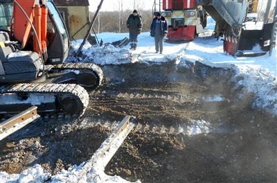 Мосбасуголь. Рязанская область. Вагонные весы БАМ фото #3