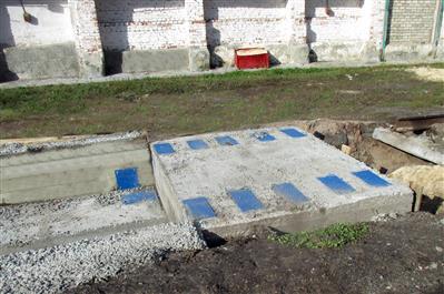 п. Бурасы. Новобурасский р-н, Саратовской области. Вагонные весы БАМ фото #2
