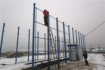 Лысые горы. Саратовская область. Весы автомобильные ВАЛ фото #3