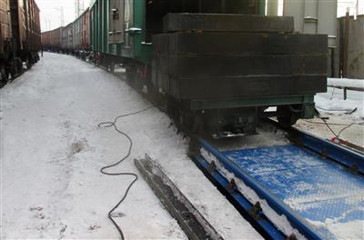 Трансвагонмаш. Иркутская область. Весы вагонные БАМ фото #2