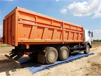 Бесфундаментные автомобильные весы ВАЛ-М 40 тонн. фото #8