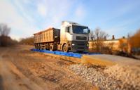 Взвешивание грузового автомобиля MAN на электронных автовесах ВАЛ. фото #2