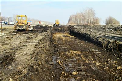 Расчистка площадки и подготовка местности под устройство фундамента. фото #12