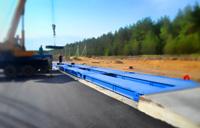 Придорожная установка автомобильных весов ВАЛ 100 тонн. фото #27