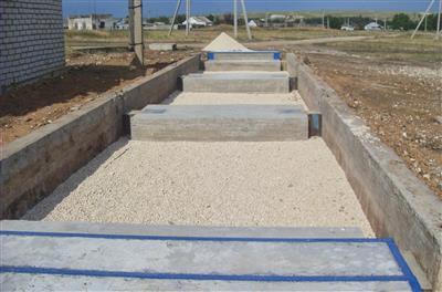 Готовый фундамент для установки 60 тонных автомобильных весов. фото #33