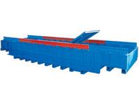 Общий вид  и конструкция сбоку вагонных весов БАМ.  фото #3