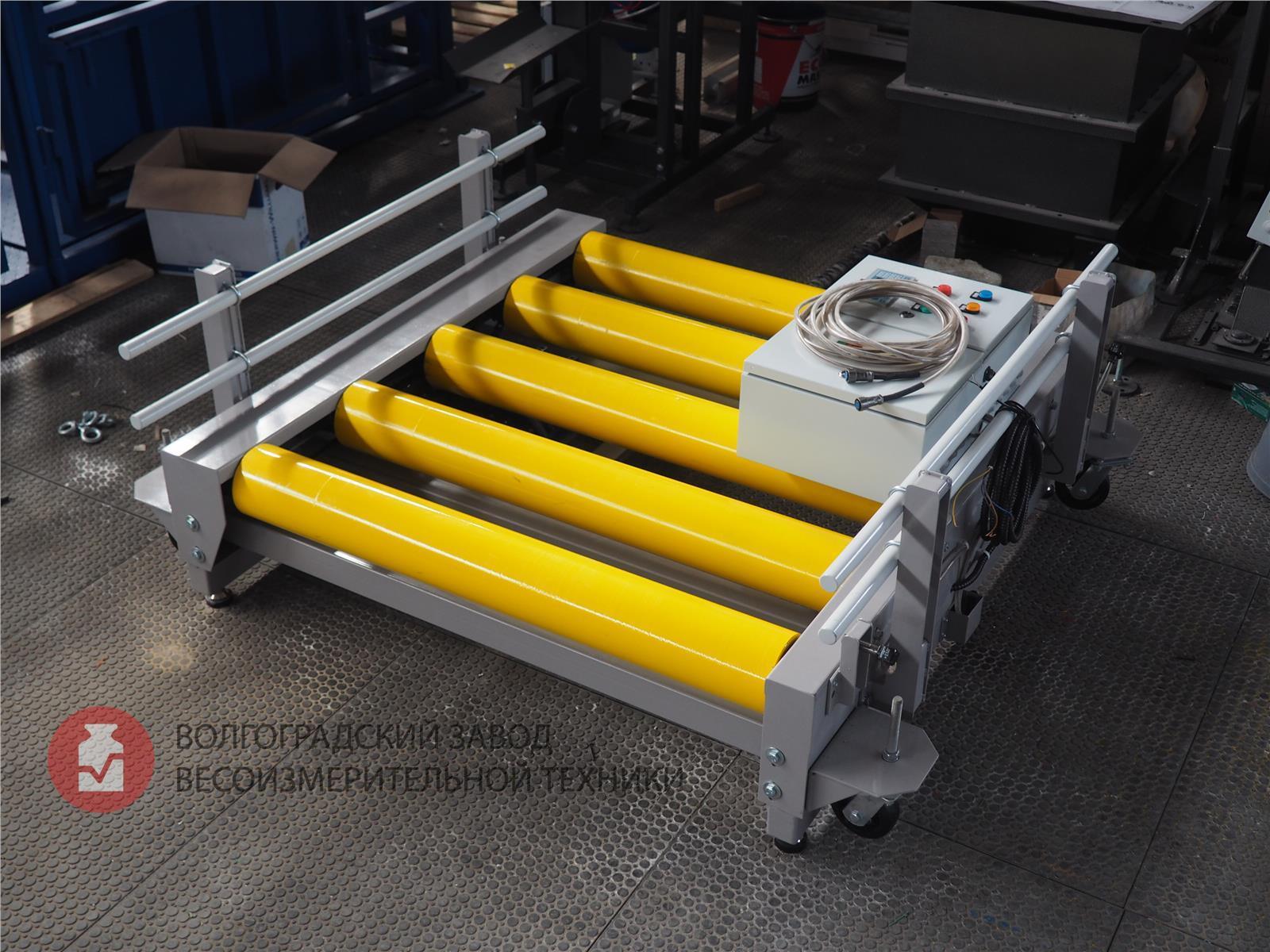 Модернизация рольганга конвейер для сборки тракторов